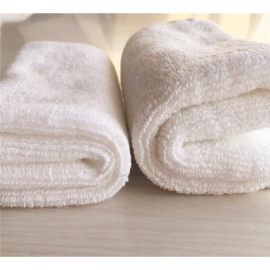 Quick-Dry Square Towel White