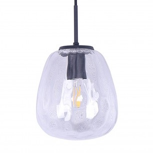 Clear Glass Pendant Light for Indoor Restaurant