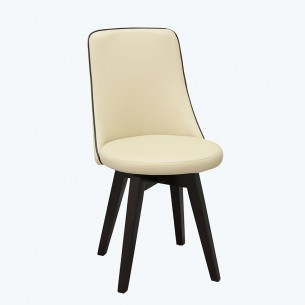 LESSO HOME  Rotating Leather Dining Chair