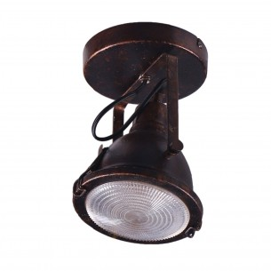 Rust Color Industrial Style Celling Spotlights