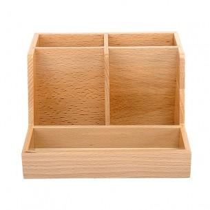 Stationery Storage Wooden Box