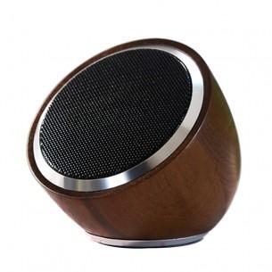 Wood Wireless Bluetooth Speaker Spherical