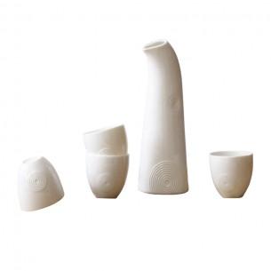 Porcelain Japanese Sake Set