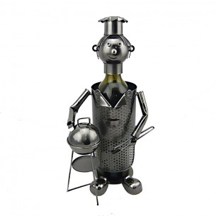 Cook Wine Holder Iron Handmade JX-9966