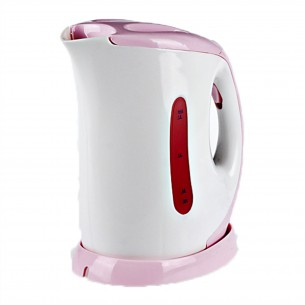 1.5L Electric Kettle with Water Level Scale Pink 20.5*13.5*22cm