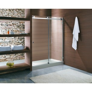 Exceptional Custom Built In Line Shower Doors