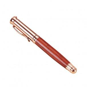 Wood Roller Pen Rose Gold