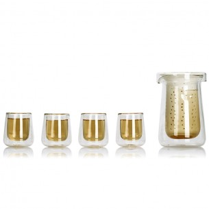Ming Xin Tea Tasting Cup Glass Tea Cup Sets