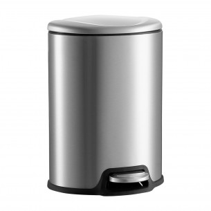 Optimal Life Stainless Steel Trash Can 5L