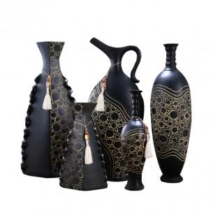 Home Decoration Resin Flower Vase