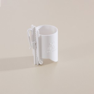 Adjustable Plastic Curtain Hook with 120mm Cylinder Setting