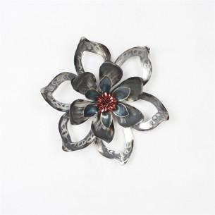 Homeydecor Metal Wall Decor Single Flower ZL65302