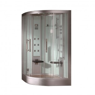 EAGO Shower Steam Room For One Person Computer Control