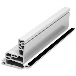 5.92M Long Casement Sash, White Plastic Profile