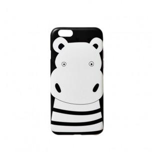 Mobile Case Set Box Stripe Hippo