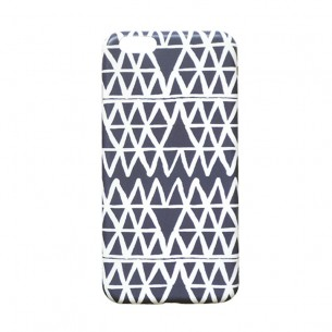 Mobile Case Set Box Blue Heart Triangle