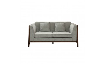 LESSO HOME 1 Seater Sleeper Sofa, Grey Fabric